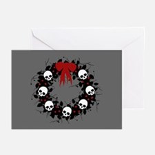 Gothic Christmas Wreath Greeting Cards (Pk of 20)