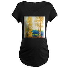 Faded Aspens Maternity T-Shirt
