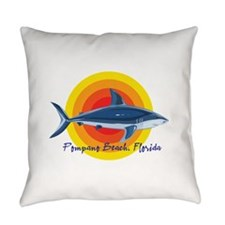 Nocturnalz Revenue Designs Square Canvas Pillow