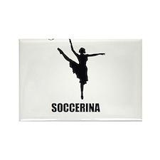 Soccerina Rectangle Magnet