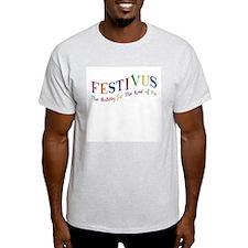 Festivus Ash Grey T-Shirt