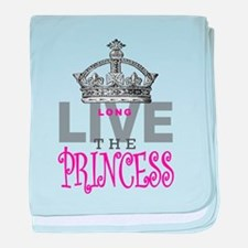 Long Live the PRINCESS baby blanket