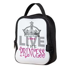 Long Live the PRINCESS Neoprene Lunch Bag