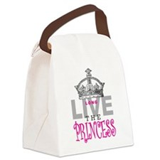 Long Live the PRINCESS Canvas Lunch Bag