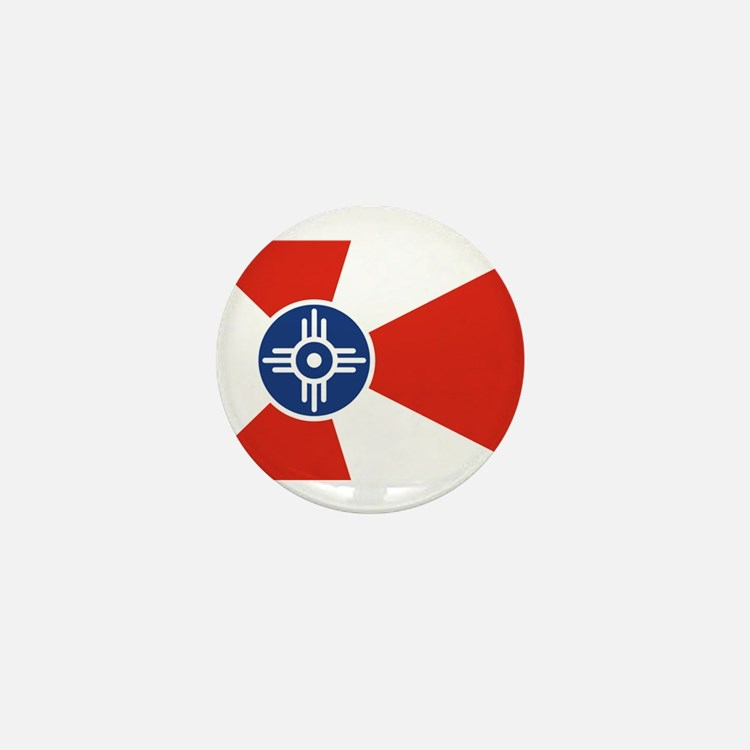 Wichita Flag Mini Button