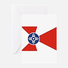 Wichita Flag Greeting Cards (Pk of 10)