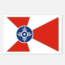 Wichita Flag Postcards (Package of 8)