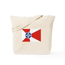Wichita Flag Tote Bag