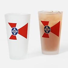 Wichita Flag Drinking Glass