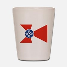 Wichita Flag Shot Glass