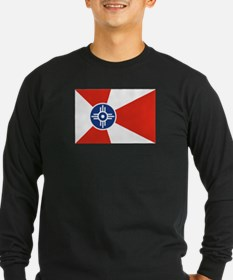 Wichita Flag Long Sleeve T-Shirt
