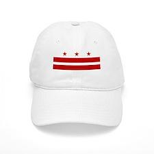 Washington DC Flag Baseball Baseball Cap
