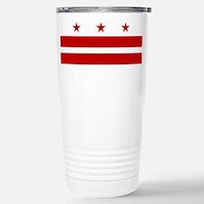 Washington DC Flag Travel Mug