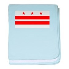 Washington DC Flag baby blanket
