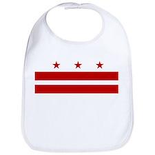 Washington DC Flag Bib