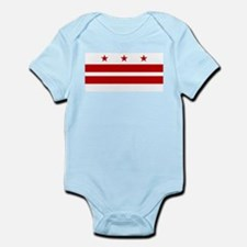 Washington DC Flag Body Suit