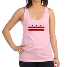 Washington DC Flag Racerback Tank Top