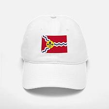 St Louis Flag Baseball Baseball Baseball Cap