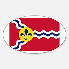 St Louis Flag Decal