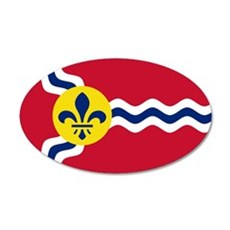 St Louis Flag Wall Decal