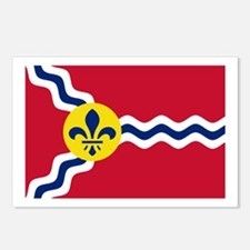 St Louis Flag Postcards (Package of 8)
