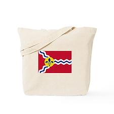 St Louis Flag Tote Bag
