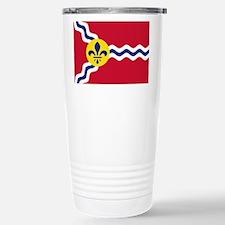 St Louis Flag Travel Mug