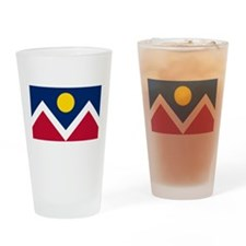 Denver Flag Drinking Glass