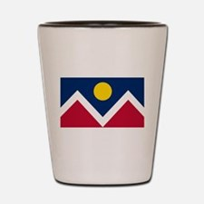 Denver Flag Shot Glass