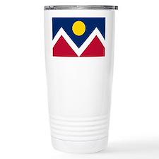 Denver Flag Travel Mug