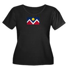 Denver Flag Plus Size T-Shirt