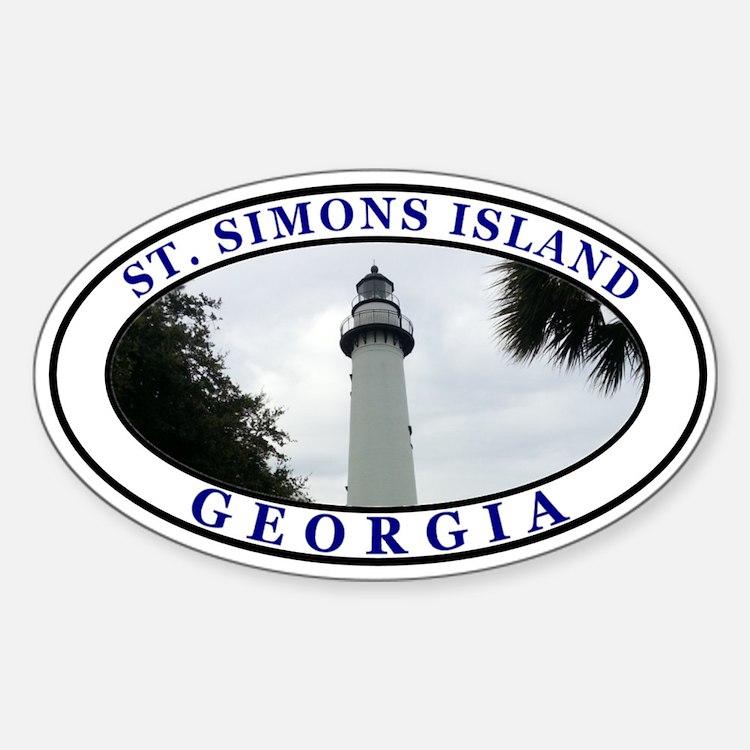 Saint Simons Island Decal