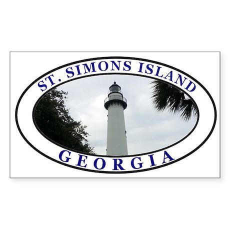 Saint Simons Island Sticker