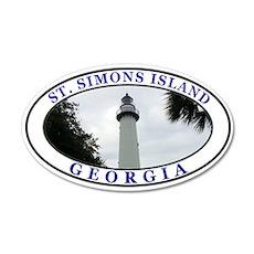 Saint Simons Island Wall Decal