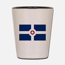 Indianapolis Flag Shot Glass