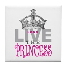 Long Live the PRINCESS Tile Coaster