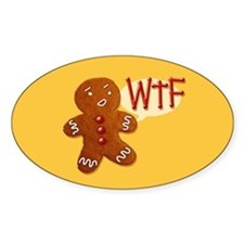 Gingerbread WTF Decal