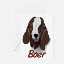"GOAT-Boer ""Sasha"" Greeting Cards (Pk of 10)"
