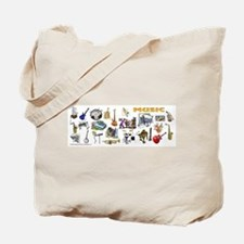 Music Lovers Tote Bag