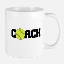Softball Coach Mug