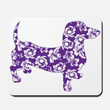 Aloha Doxies in Purple Mousepad
