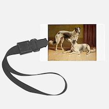 Persian Greyhounds Luggage Tag
