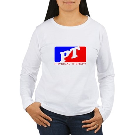 Physical Therapy Women's Long Sleeve T-Shirt