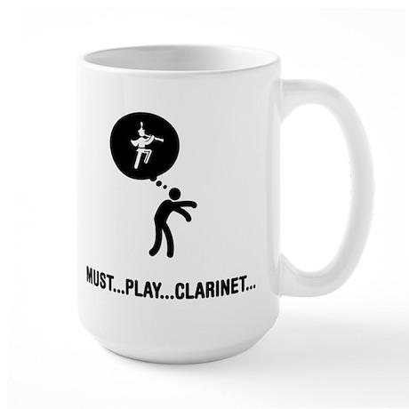 Clarinet Player Large Mug