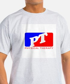 Physical Therapy Ash Grey T-Shirt