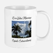 Love Plus Marriage Equals Extraordinary Mug