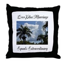 Love Plus Marriage Equals Extraordinary Throw Pill
