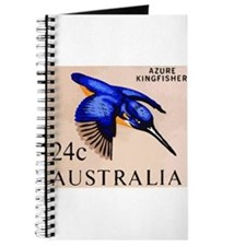 1966 Australia Azure Kingfisher Postage Stamp Jour