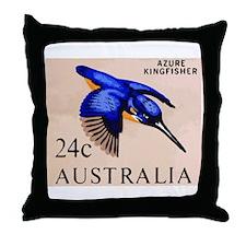 1966 Australia Azure Kingfisher Postage Stamp Thro