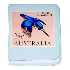 1966 Australia Azure Kingfisher Postage Stamp baby